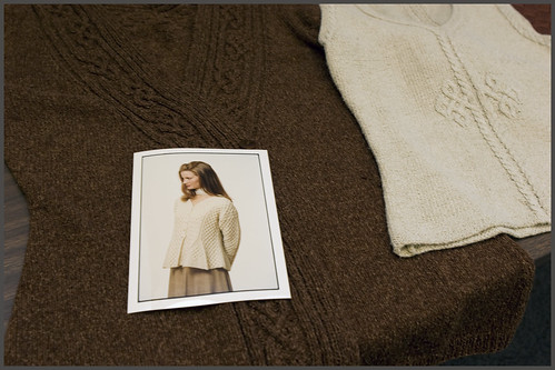 Elsebeth Lavold sweater examples: Viking Knits