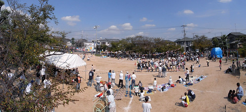 Panorama Kakogawa-The athletic meet of our small community-8