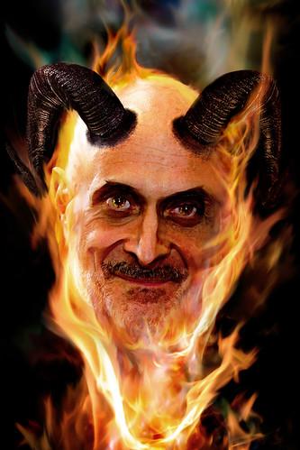 Photoshop: Chertoff Devil