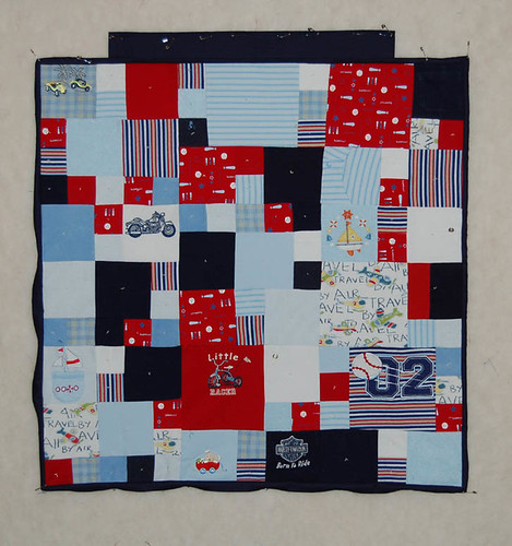 Baby Quilt from Baby Clothing