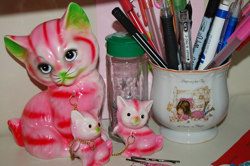 My pink cats