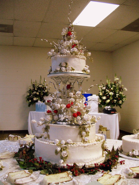 Stephanie & Michael's wedding cake #1