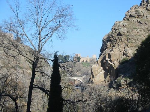 Castillo de San Servando desde el embarcadero