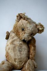 My Old Teddy (poppalina) Tags: bear old love beautiful fur toy friend teddy australia melbourne best flashback worn disabled friday ragged shula poppalina pc3012