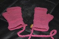 eden's fingerless mittens