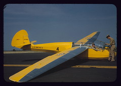 Marine glider in training at Page Field, Parris Island, S.C.  (LOC) (The Library of Congress) Tags: sc yellow usmc training plane airplane marine aircraft aviation may marines libraryofcongress 1942 glider marinecorps unitedstatesmarinecorps usmarines parrisisland pagefield xmlns:dc=httppurlorgdcelements11 dc:identifier=httphdllocgovlocpnpfsac1a35113 schweizerlns1 lns1