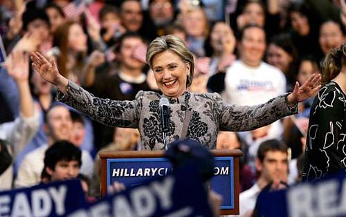 Hillary or Evita?