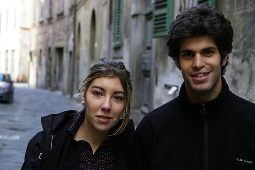 Sergio y Ana