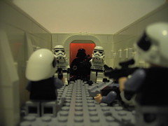 Episode IV Opening Scene (DarthNick(Original)) Tags: storm trooper movie soldier rebel star lego wars iv episode tantive