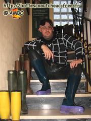En bottes caoutchouc Marc Jakobs (pascal en bottes) Tags: boots goma rubber marc jacobs pascal wellies gummistiefel bottes botas gomma caoutchouc stivali stövlar