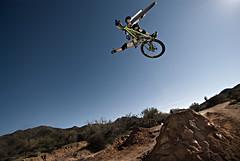 NRA Jumps (Poppa-D) Tags: arizona sunlight southwest darren big jump nikon d mountainbike pad az stevenson mtb d200 mountainbiking vivitar freeride bigair poppa nra dirtjump overpower poppad strobist overpowersunlight