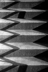 Accordian (bralorne1(Beachhead Photography)) Tags: bw abstract lines stairs amazing shadows accordian simple linescurves disorientating twopair pureabstract 2pair aplusphoto anythingdigital exemplaryshotsflickrsbest cmwdblackwhite artlegacy abstractartaward bwartaward beachheadphotos