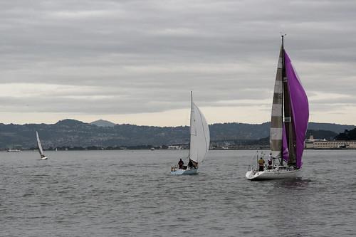 sanfrancisco bay sailboats