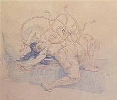 La Pieuvre (Octopus) by Félicien Rops