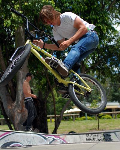 Skate Park Bike Jump