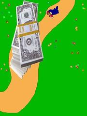 misterQQ4(ingrandita per vedere i sacchetti della SUPER-al) (8tta) Tags: money verde digital digitale comix fumetti qq prato disegno drowing gulp soldi avventure cuccu digitaldrowing disegnodigitale leavventure misterqq coloursploson