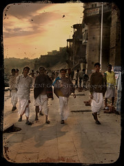 The  Whimsical Charm of Men who wear Dhoti (designldg) Tags: people india heritage varanasi tradition ganga ganges ghats benaras uttarpradesh  indiasong anawesomeshot hourofthediamondlight betterthangood
