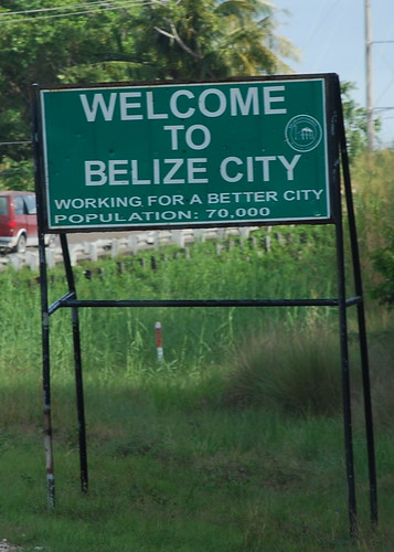 Welcome to Belize City by afagen.