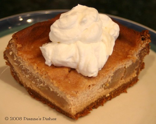 Tuesday's With Dorie: Brown Sugar Apple Cheesecake