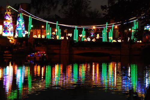 琉璃藝術公園的彩色橋