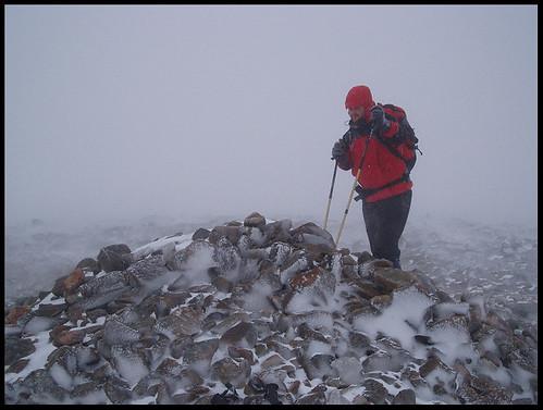 Graham on Summit Cairn