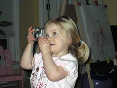 sarah taking a photo