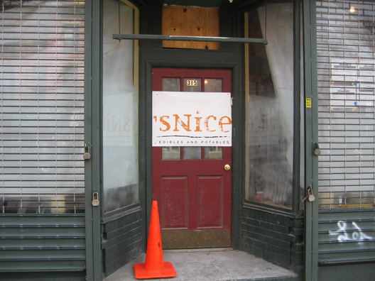 Snice Storefront