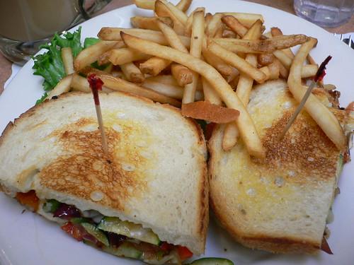 Joanie's Cafe - Grilled Veggie Hot Sandwich