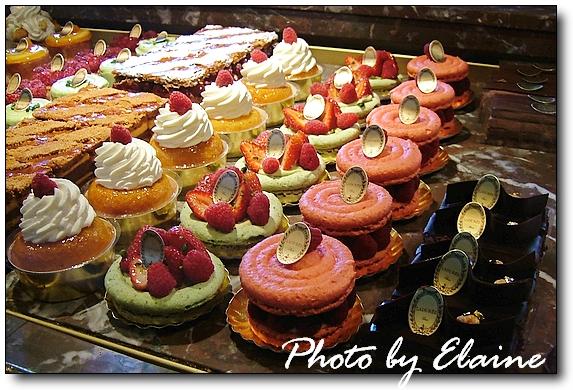 琳瑯滿目的甜點