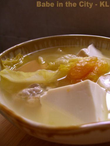 Harm Choy Tong (Pickled Mustard Cabbage Soup)