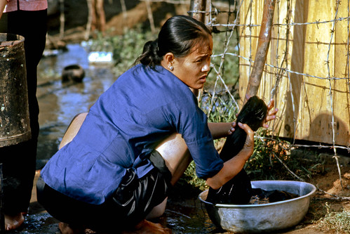 Laundry-Day-Vietnam-Mekong-Delta-Mar1969--img328 by Lance & Cromwell