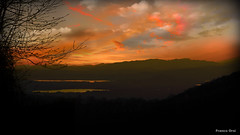 tramonto dal s.monte di varese (Franco Orsi) Tags: sunset primavera montagne landscape italia tramonto lombardia paesaggio springtime prealpi 21100varese smontedivarese