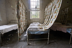 Browning/Blake ward (Richard-James) Tags: abandoned cane hospital bed decay hill medical ward lunatic asylum derelict croydon wards decaying ue mental coulsdon urbex canehill