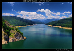 Vidradu Lake - at its best (Paul Bil) Tags: mountain lake reflections saturated fuji quality bluesky best romania polarizer 2007 greengrass whiteclouds carpathianmountains s6500 platinumphoto theenchantedcarousel vidradu vosplusbellesphotos outstandingromanianphotographers