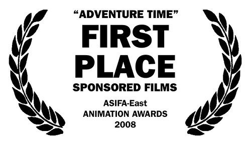 Adventure Time wins first place