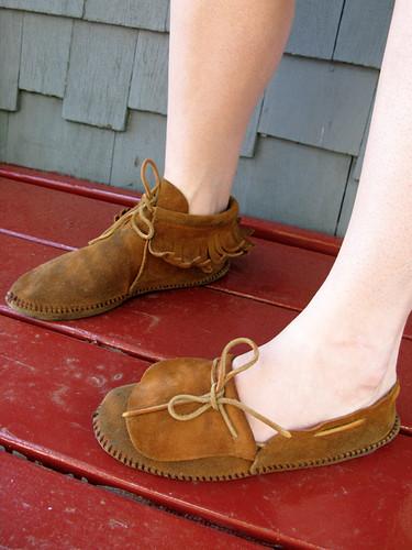 feet katharine moccasins