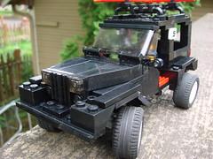 Lego 1990 Jeep Wrangler 3/4