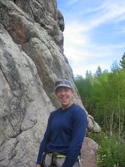 Climbergirl Giggles-Brown's Landing Rocks!