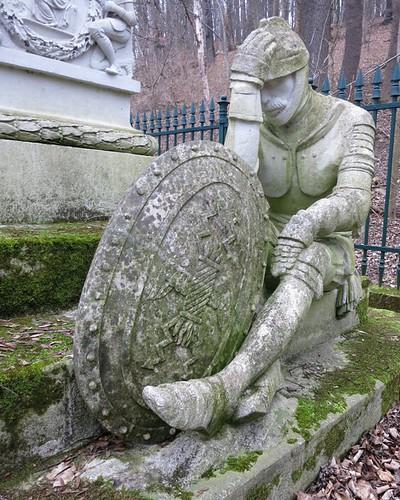 Trauernder Krieger