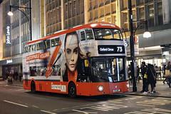 LT467 LTZ1467 (Arriva) Oxford Street 5.11.16 (Rays Bus Photographs) Tags: arrivalondon lt467 ltz1467 advertbus rimmel