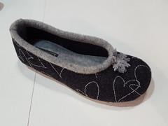 Babbuccia in lana per il relax #riposo #lana # caldo (calz.silva) Tags: riposo lana