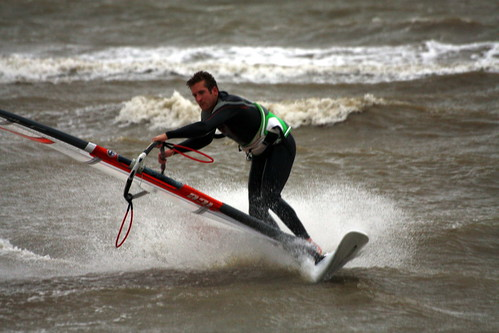 Windsurfing Hill Head