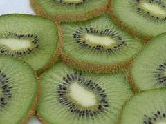Juicy Sliced Kiwi Fruit