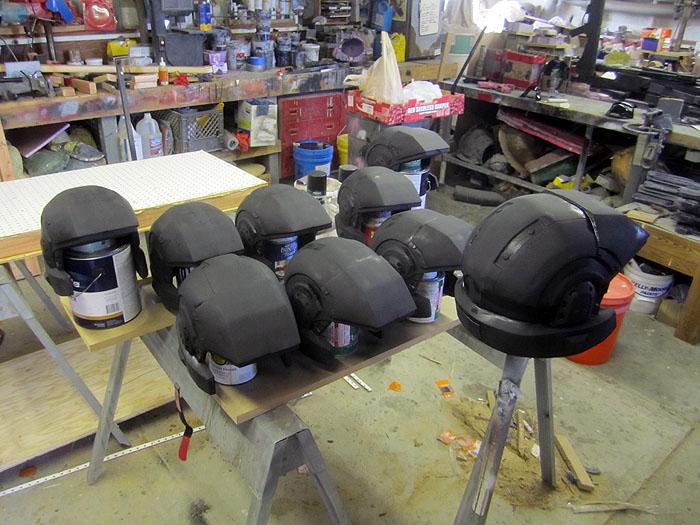 HALO Marine Helmets
