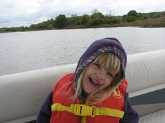Lorelei on the boat