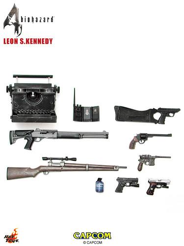 Hot Toys -Biohazard 4/ Resident Evil 4 ~ Leon S  Kennedy - Statue