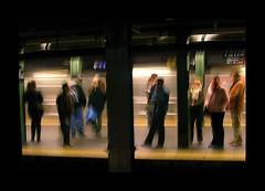 NYC subway (rabataller) Tags: nyc people usa newyork subway metro sihoulette mywinners rabataller