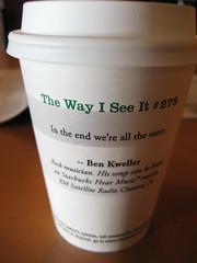 IMG_1759 (jdong) Tags: travel vacation musician coffee ma massachusetts newengland roadtrip explore starbucks quotes weymouth benkweller thewayiseeit starbuckscoffee worldwideopen