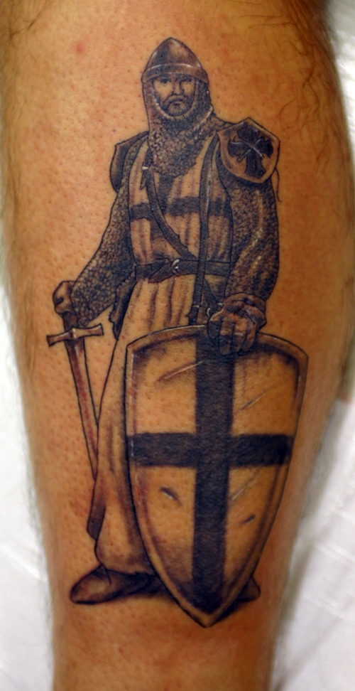 grey knight Tattoo. go back