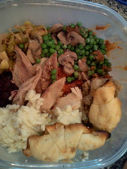 Thanksgiving leftovers (Mitch Wagner) Tags: thanksgiving food holidays leftovers